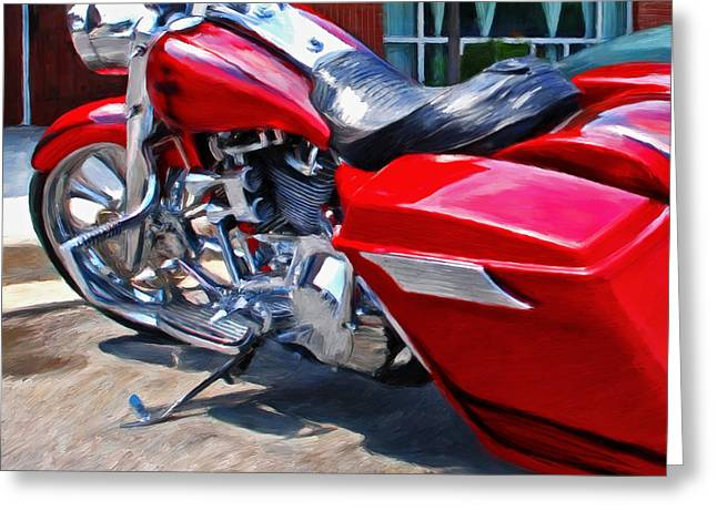 Street Glide Greeting Card