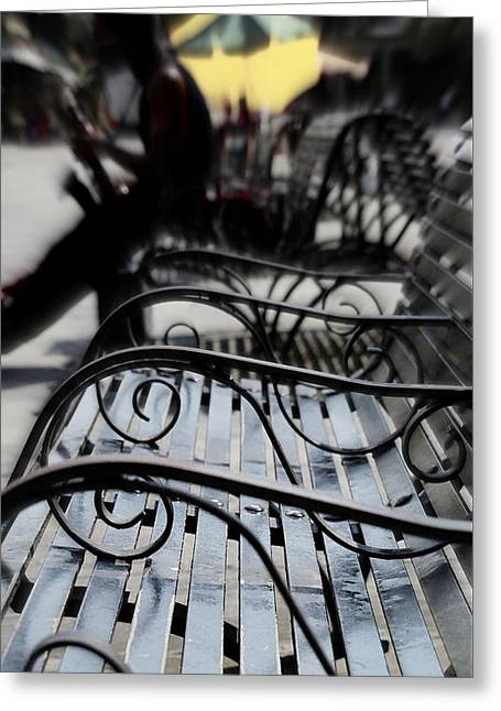 Street Jazz In The Big Easy Greeting Card by Paul  Wilford