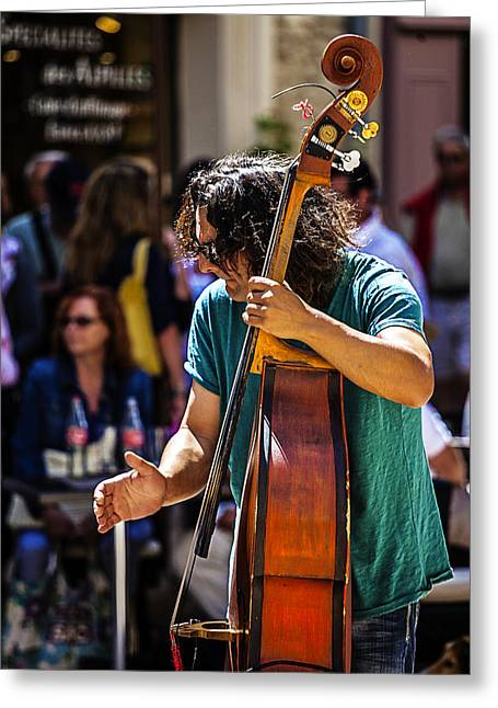 Street Jazz - St. Remy Style Greeting Card