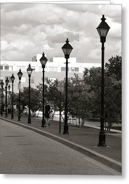 Street Lights Greeting Card