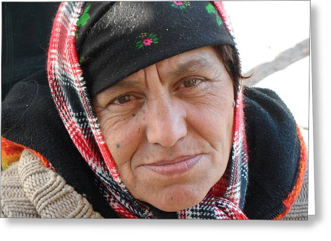 Street People - A Touch Of Humanity 20 Greeting Card