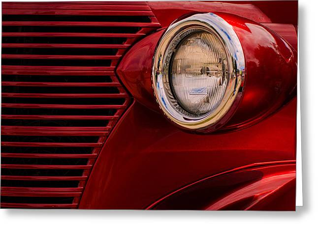 Street Rod 2 Greeting Card by Jack Zulli