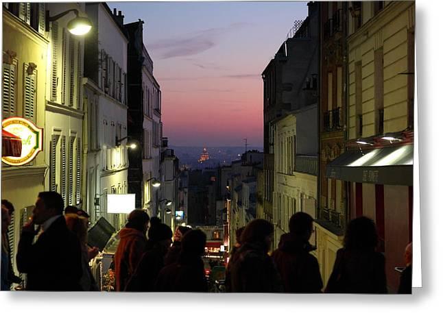 Street Scenes - Paris France - 011312 Greeting Card