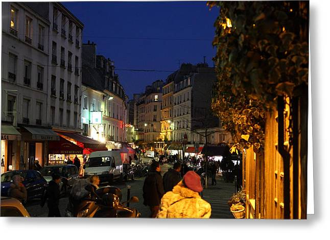 Street Scenes - Paris France - 011314 Greeting Card by DC Photographer