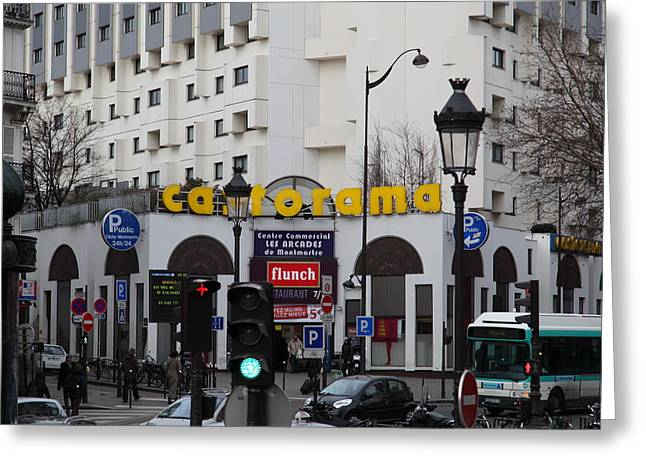 Street Scenes - Paris France - 011343 Greeting Card by DC Photographer