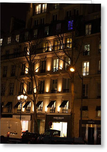 Street Scenes - Paris France - 011347 Greeting Card by DC Photographer