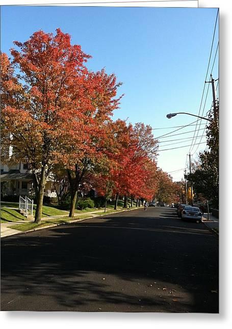 Street View Staten Island Greeting Card