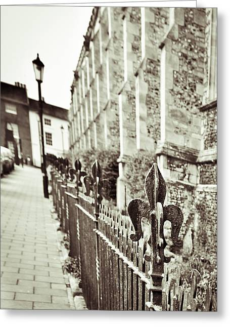 Street View Greeting Card by Tom Gowanlock