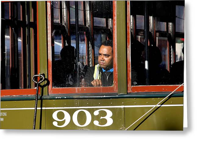 Streetcar 903 Greeting Card