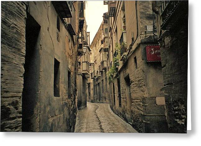 Streets Of Toledo Greeting Card