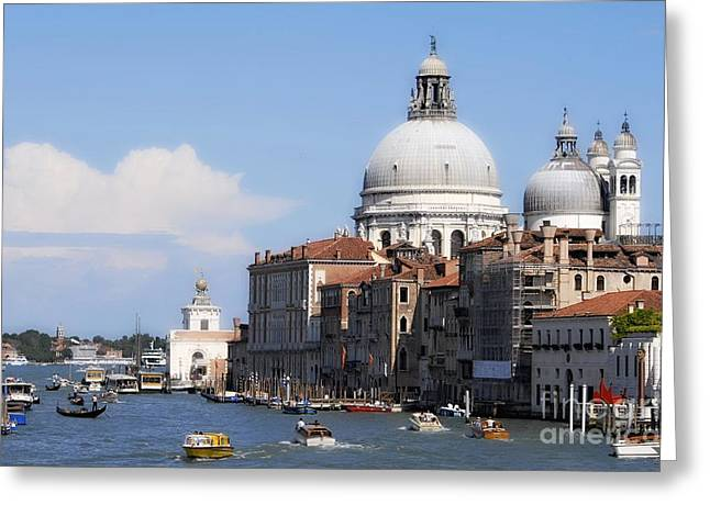 Streets Of Venezia 1 Greeting Card