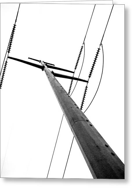 Greeting Card featuring the photograph Strength by Wade Brooks