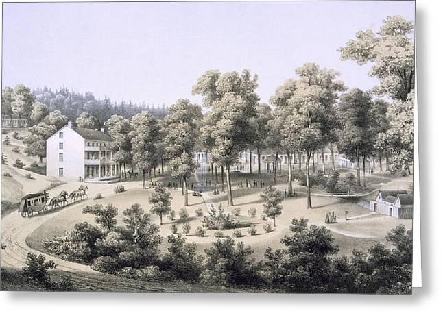 Stribling Springs, Spa Village, Augusta Greeting Card