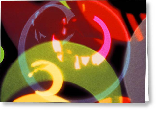 String Of Lights 2 Greeting Card by Mike McGlothlen