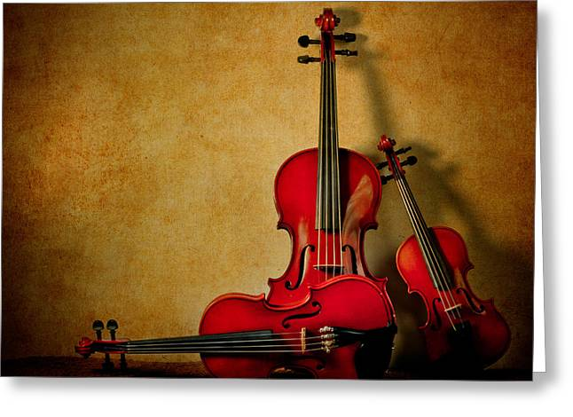 String Trio Greeting Card