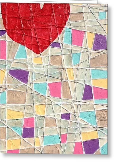 Strings To My Heart  Greeting Card by Isaac Alcantar