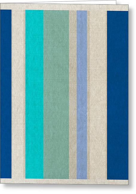 Stripes Greeting Card by Aged Pixel