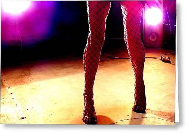 Stripper Greeting Card