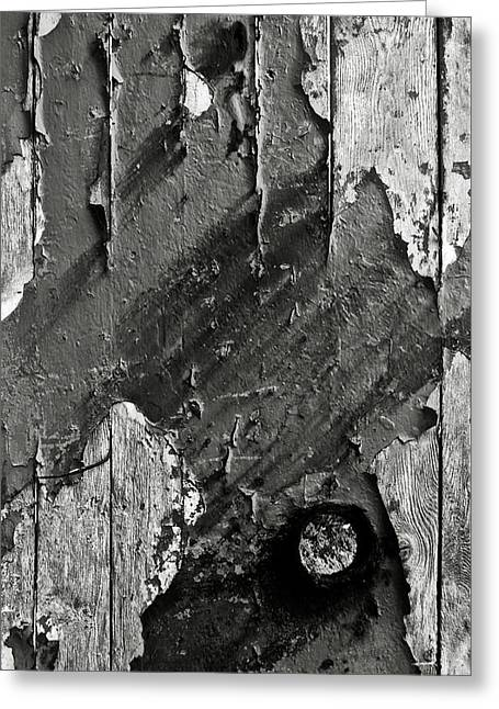 Stripping Hull Of An Old Abandoned Ship Greeting Card by RicardMN Photography