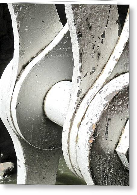 Structural Support Greeting Card by Jeff Gater