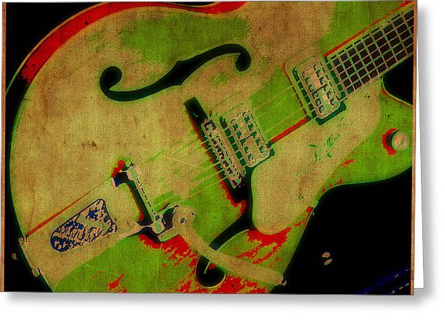 Strum Greeting Card by Tilly Williams