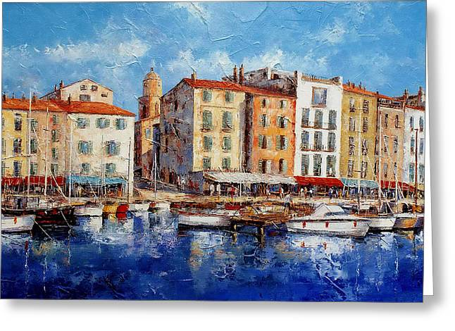St. Tropez - France Greeting Card