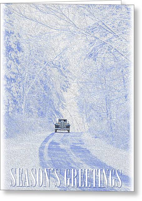 Greeting Card featuring the photograph Seasons Greetings by Ed Dooley