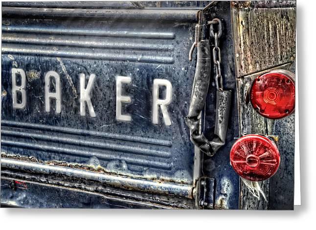 Studebaker Tailgate Greeting Card