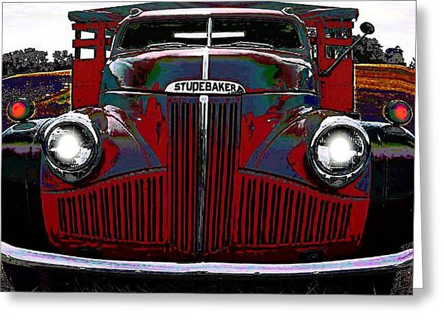 Studebaker Truck Greeting Card