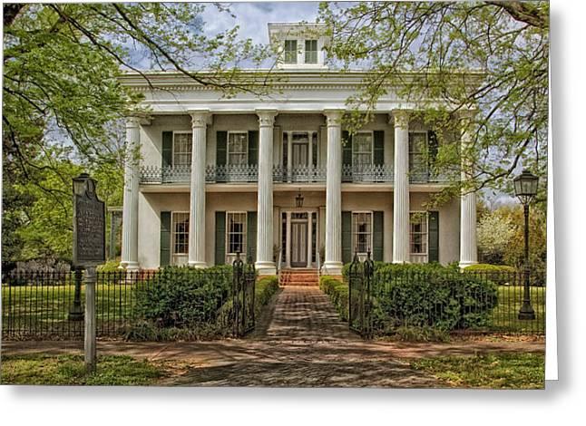 Sturdivant Hall - Selma Alabama Greeting Card by Mountain Dreams