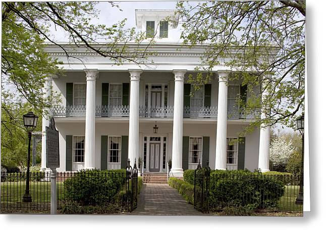 Sturdivent Hall In Selma Greeting Card by Carol M Highsmith