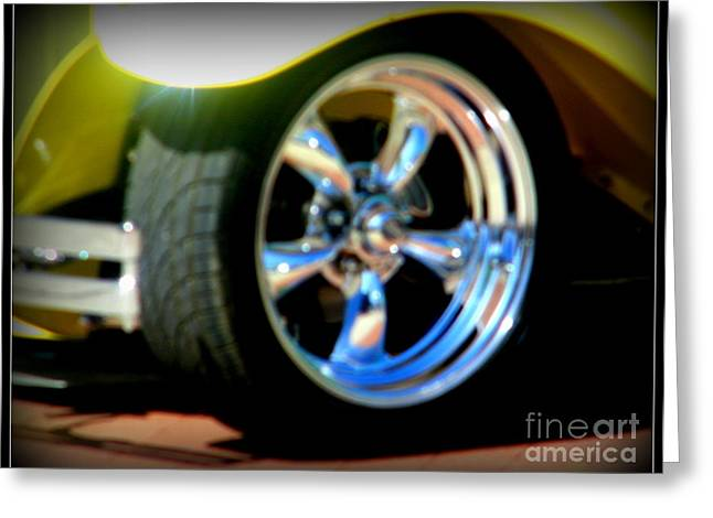 Greeting Card featuring the photograph Stylin' Wheels by Bobbee Rickard