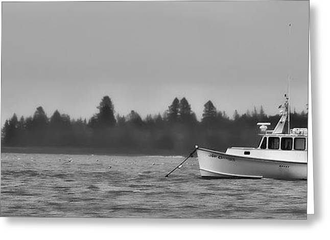 Greeting Card featuring the photograph Subtle Mooring by Richard Bean