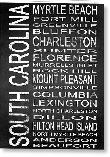 Subway South Carolina State 1 Greeting Card by Melissa Smith