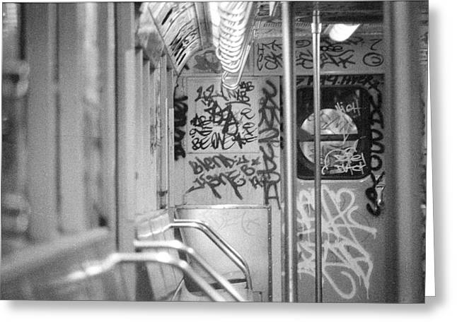 Greeting Card featuring the photograph Subway by Steven Macanka