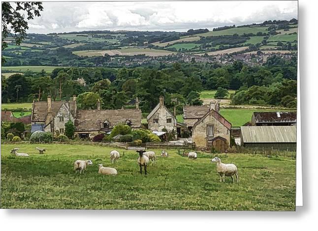 Sudeley Hill Farm Greeting Card