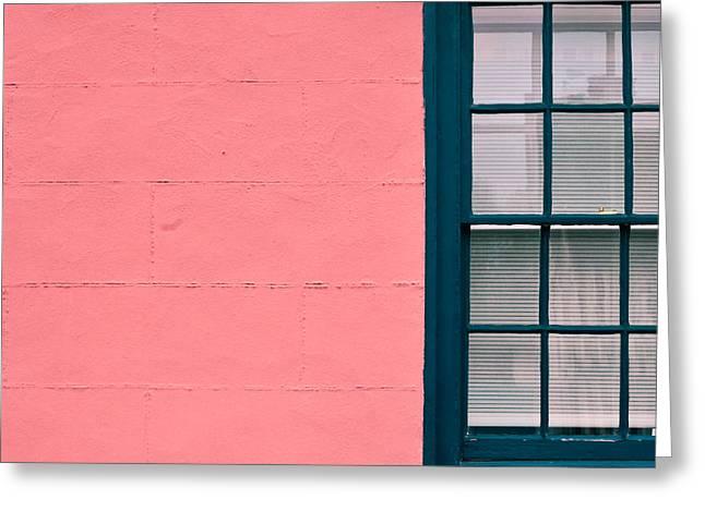 Suffolk Pink Greeting Card