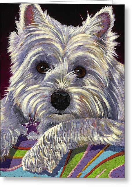 Sugar Greeting Card by Bob Coonts