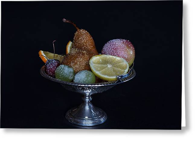Sugared Still Life Greeting Card by Marianne Donahoe