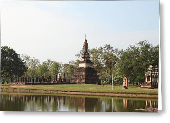 Sukhothai Historical Park - Sukhothai Thailand - 011363 Greeting Card by DC Photographer