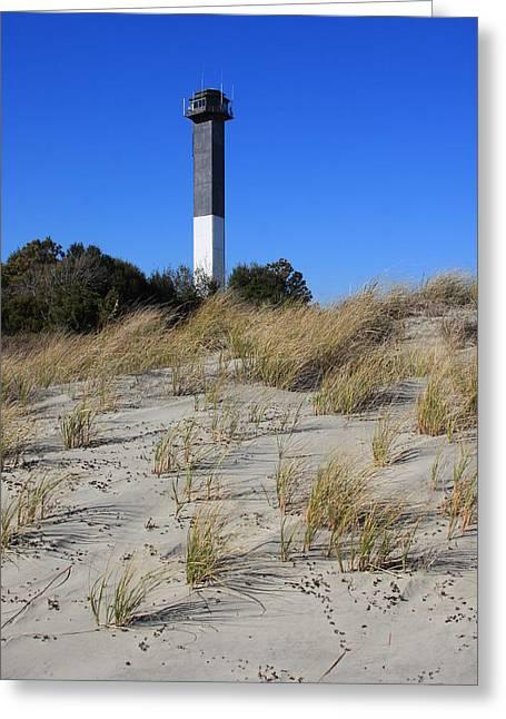 Sullivan's Island Lighthouse Greeting Card