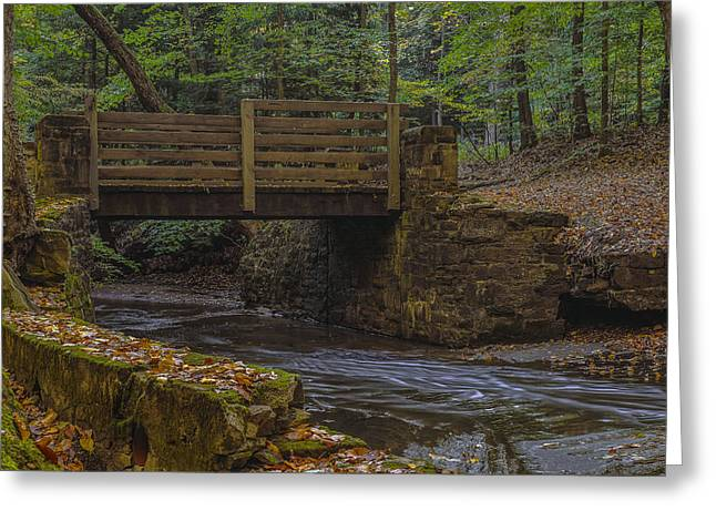 Sulphur Springs Bridge Greeting Card