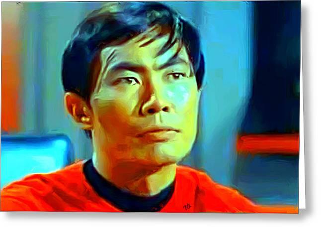 Sulu Greeting Card