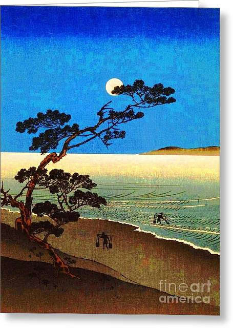 Suma Beach Greeting Card by Pg Reproductions