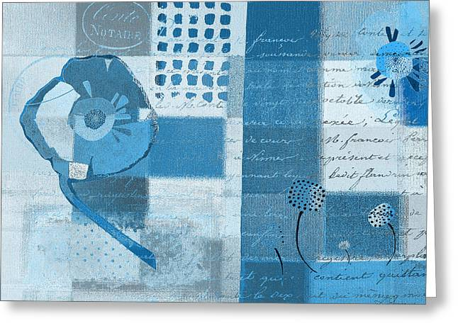 Summer 2014 - J088097112-blueall Greeting Card by Variance Collections