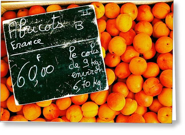 Summer Apricots Greeting Card by Christian Capucci
