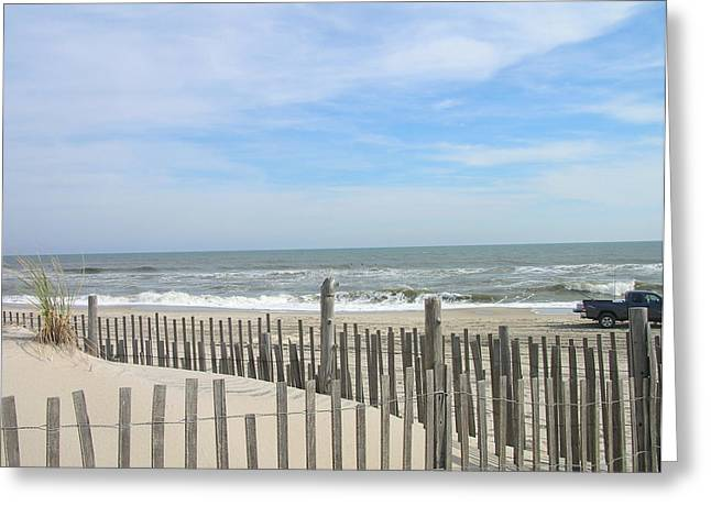 Summer At The Jersey Shore Greeting Card