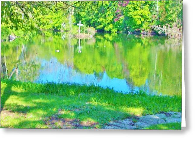 Summer At The Lake Greeting Card