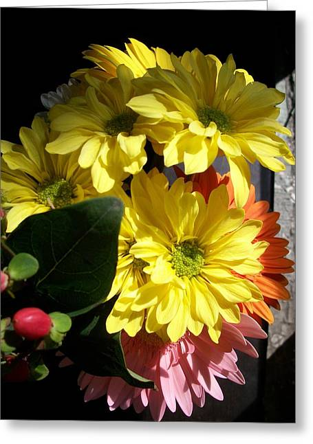 'summer Bouquet In Sunlight'  Greeting Card