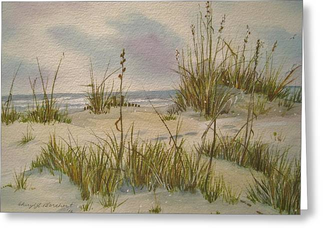 Summer Breezes Greeting Card by Cheryl Borchert